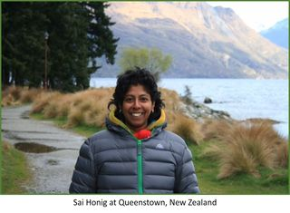 Sai Honig pic at Queenstown 2016
