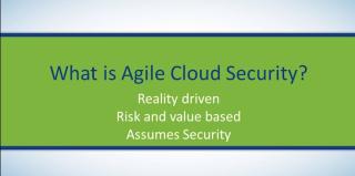 Agile cloud security