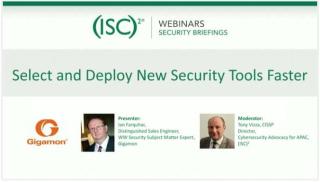 Webinar-isc2-security-tools