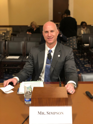 Wesley Simpson.Congressional Hearing on Diversity in Cyber.May 2019