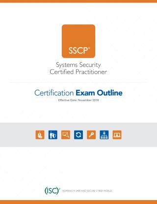 SSCP Exam Outline-Nov 1 2018-1