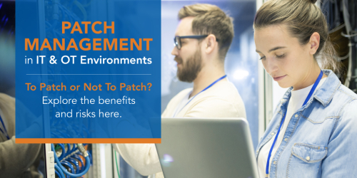 SSCP-Patch Management in IT and OT Environments